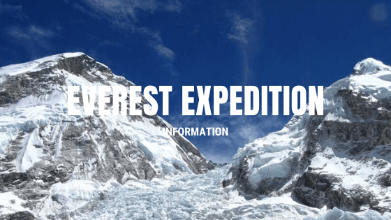 everest expedition info