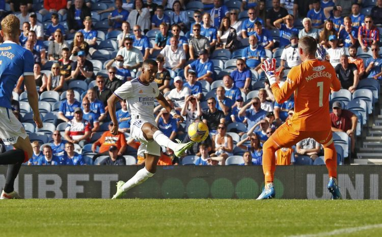 Real Madrid defeated by Rangers