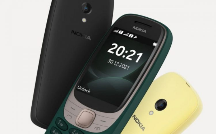 After 20 years, Nokia 6310 has been unveiled in a new incarnation