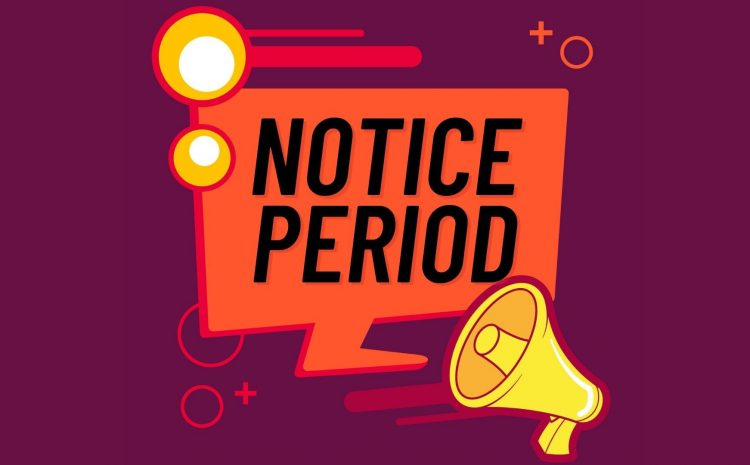 Instructions To Manage An Active Worker Serving His Notice Period