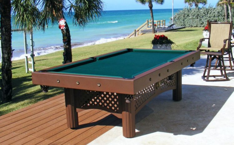 Types Of Pool Tables You Should Look Out For