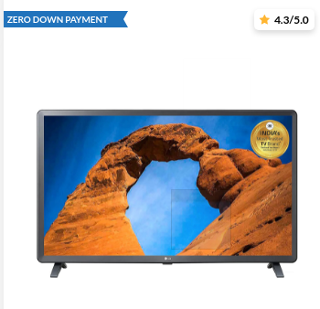 Grab the best deals online on LED TVs from various brands